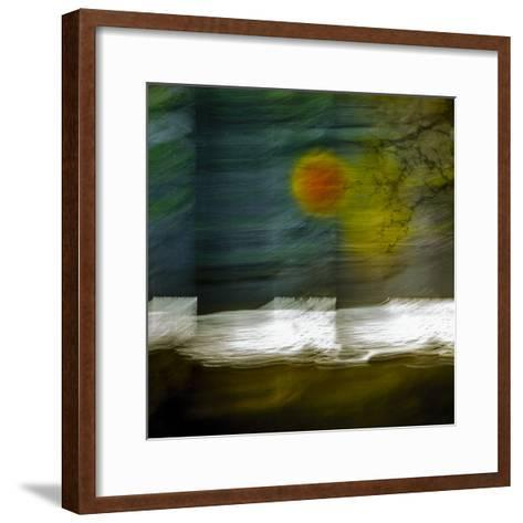 Lochside (II)-Valda Bailey-Framed Art Print