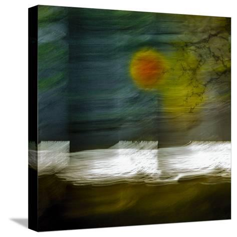 Lochside (II)-Valda Bailey-Stretched Canvas Print