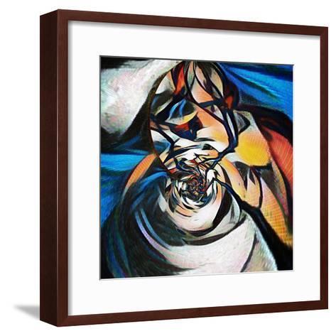 Girl at the Stream-Ursula Abresch-Framed Art Print