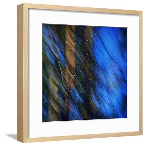 Stardust on Pines-Ursula Abresch-Framed Art Print