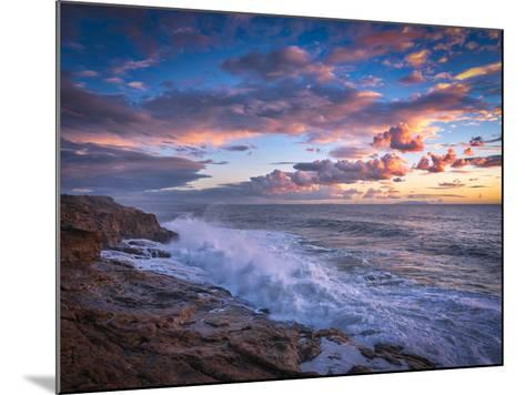 Stormy Sea-Marco Carmassi-Mounted Photographic Print