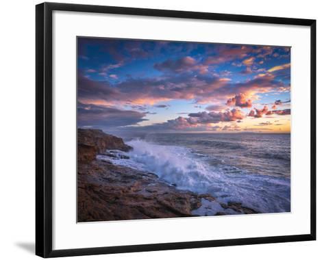 Stormy Sea-Marco Carmassi-Framed Art Print