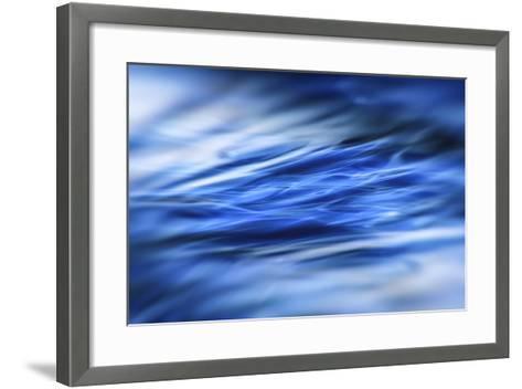 Deep Blue Shallows-Valda Bailey-Framed Art Print