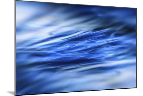 Deep Blue Shallows-Valda Bailey-Mounted Photographic Print