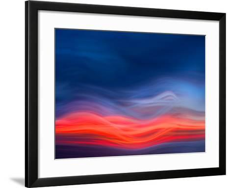 Flame Red-Marco Carmassi-Framed Art Print