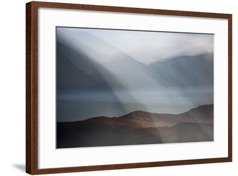 Rolling Mists on Loch Morlich-Valda Bailey-Framed Art Print