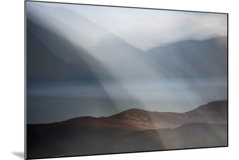 Rolling Mists on Loch Morlich-Valda Bailey-Mounted Photographic Print