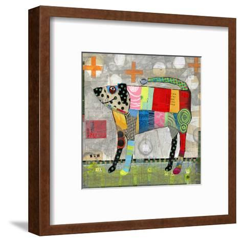 Coat of Many Colors-Judy Verhoeven-Framed Art Print