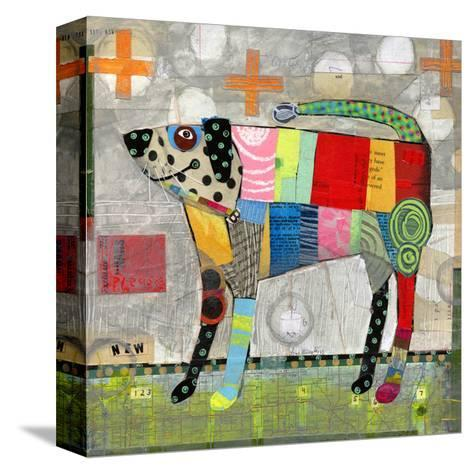 Coat of Many Colors-Judy Verhoeven-Stretched Canvas Print