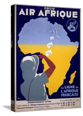 Air Afrique--Stretched Canvas Print