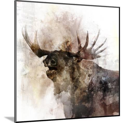 Moose Call-Ken Roko-Mounted Art Print