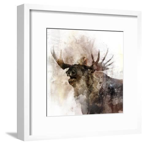 Moose Call-Ken Roko-Framed Art Print