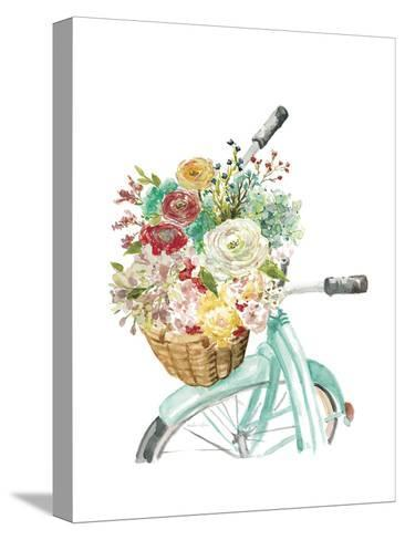 Basket and Bike-Studio Rofino-Stretched Canvas Print