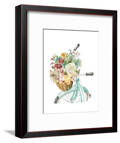 Basket and Bike-Studio Rofino-Framed Art Print