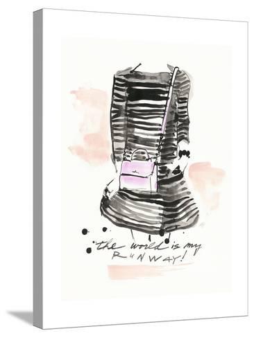 My Runway-Megan Swartz-Stretched Canvas Print