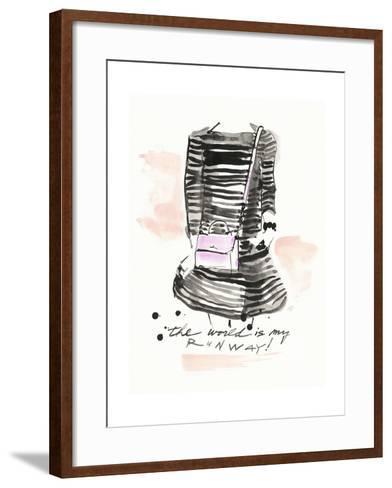 My Runway-Megan Swartz-Framed Art Print