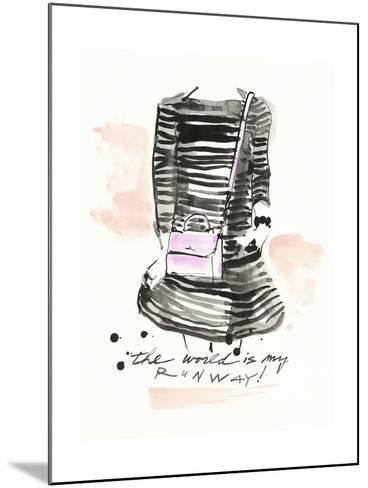 My Runway-Megan Swartz-Mounted Art Print