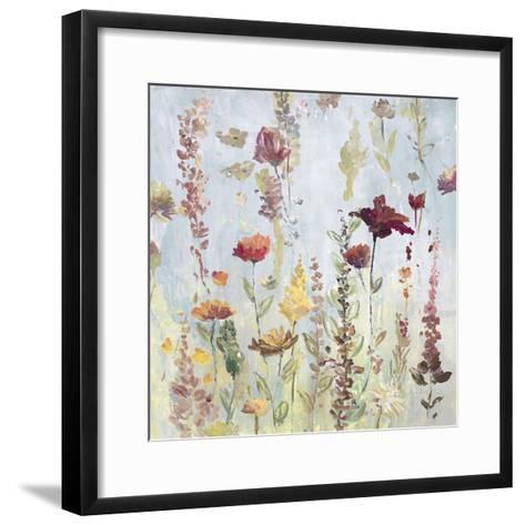 Rain Shower Garden-Lora Gold-Framed Art Print