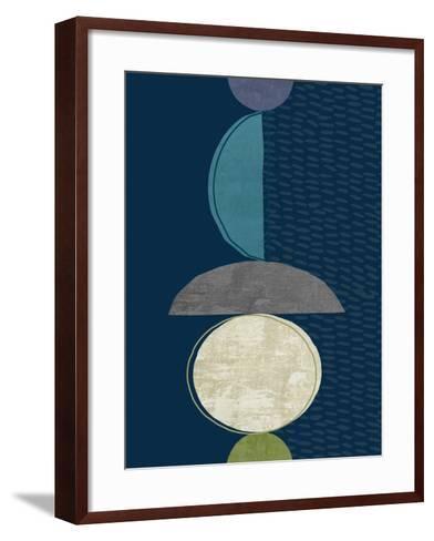 Modern Ellipse 2-Evangeline Taylor-Framed Art Print