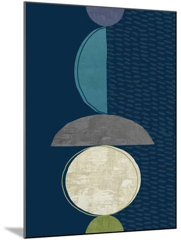 Modern Ellipse 2-Evangeline Taylor-Mounted Art Print