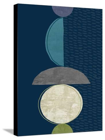 Modern Ellipse 2-Evangeline Taylor-Stretched Canvas Print