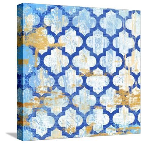 Moroccan Spa 1-Devon Ross-Stretched Canvas Print