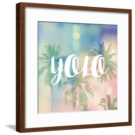 YOLO-Evangeline Taylor-Framed Art Print