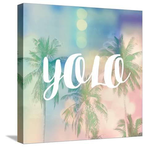 YOLO-Evangeline Taylor-Stretched Canvas Print