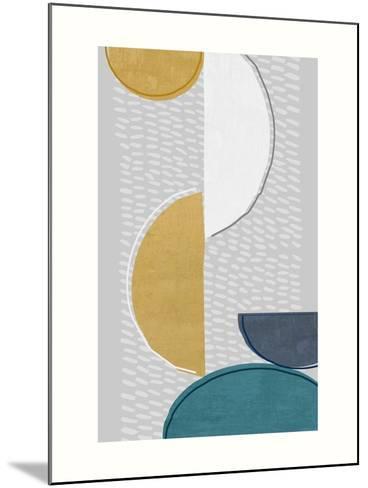 Modern Ellipse 1-Evangeline Taylor-Mounted Art Print
