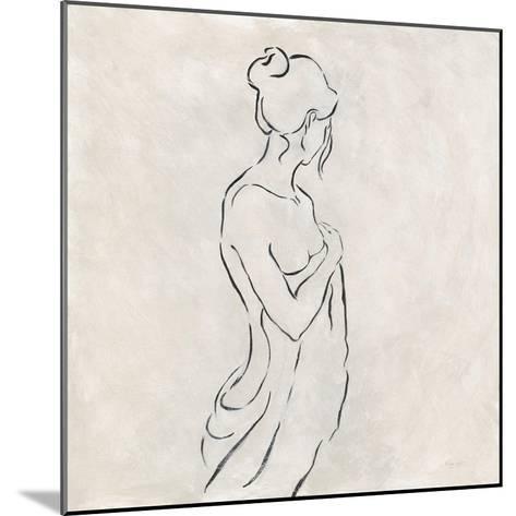 Alabaster Bather 1-Karen Wallis-Mounted Art Print