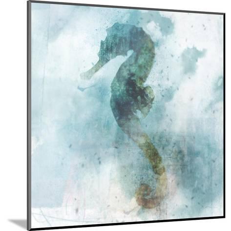 Coastal Mist Seahorse-Ken Roko-Mounted Art Print