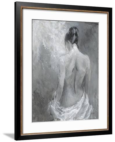 Draped Figure 2-Karen Wallis-Framed Art Print