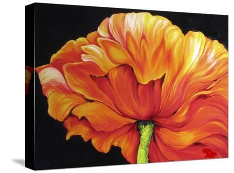 A Single Poppy-Marcia Baldwin-Stretched Canvas Print