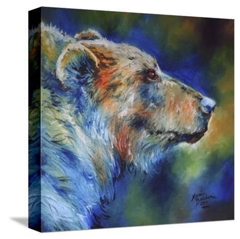 Bear Abstract-Marcia Baldwin-Stretched Canvas Print
