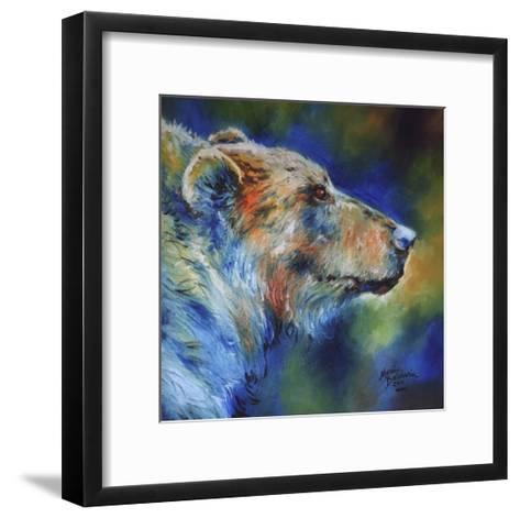 Bear Abstract-Marcia Baldwin-Framed Art Print