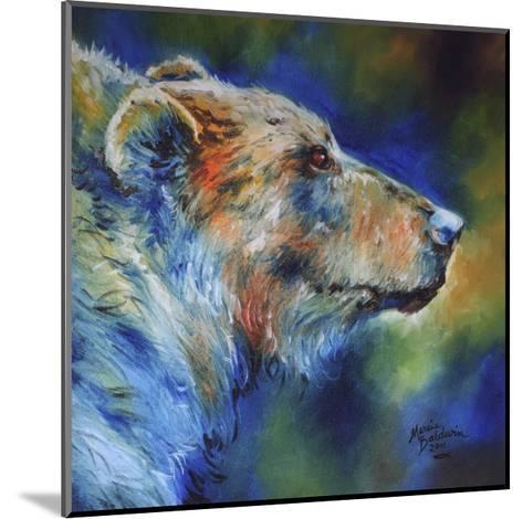 Bear Abstract-Marcia Baldwin-Mounted Art Print