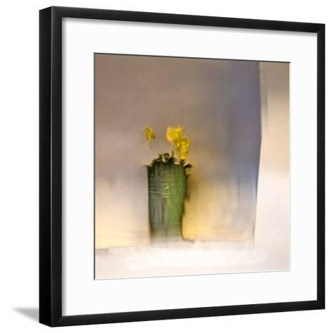 The First Primrose-Valda Bailey-Framed Art Print