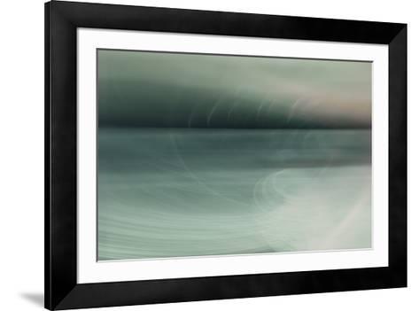 Viridian Harmony-Valda Bailey-Framed Art Print