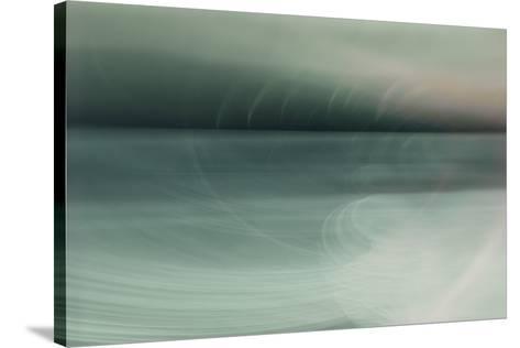 Viridian Harmony-Valda Bailey-Stretched Canvas Print