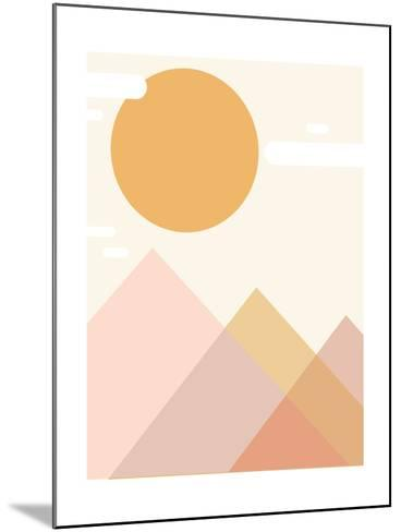 Mountain Range-Kindred Sol Collective-Mounted Art Print