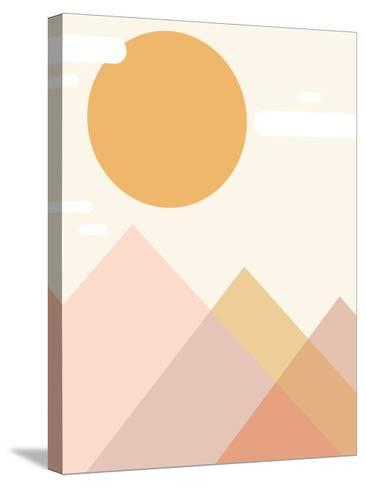 Mountain Range-Kindred Sol Collective-Stretched Canvas Print