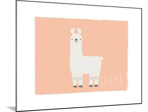 Llama-Kindred Sol Collective-Mounted Art Print