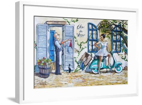 Runaway Bride-Ronald West-Framed Art Print