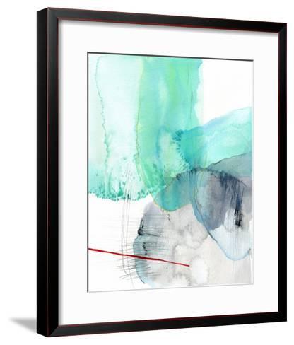 Beach Study 1-Elisa Sheehan-Framed Art Print