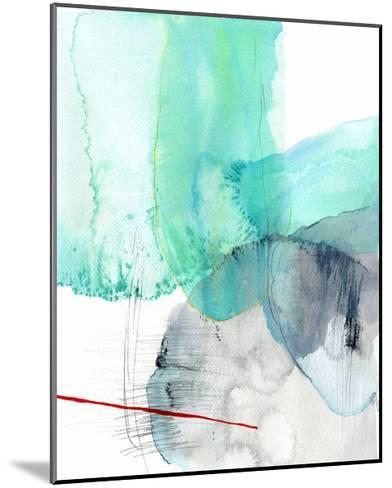 Beach Study 1-Elisa Sheehan-Mounted Art Print