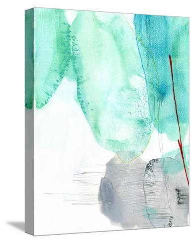 Beach Study 2-Elisa Sheehan-Stretched Canvas Print