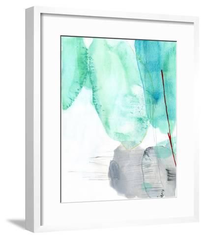 Beach Study 2-Elisa Sheehan-Framed Art Print
