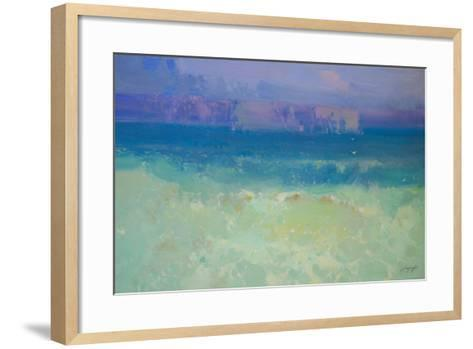 Waves - Pacific Highway-Vahe Yeremyan-Framed Art Print
