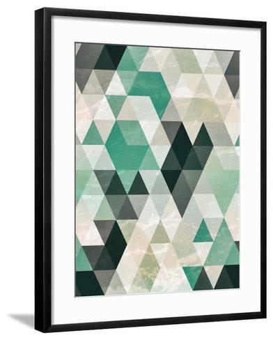 Triangle Pattern-Tai Prints-Framed Art Print
