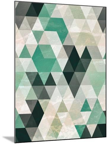 Triangle Pattern-Tai Prints-Mounted Art Print